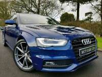 Oct 2014 (Scuba Blue) Audi A4 S Line Black Ed Spec 2.0 Tdi Auto CVT, Tech Pack! 49k!