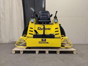 HOC QUMH78 36 INCH HONDA HYDRAULIC RIDE ON POWER TROWEL + BLADES + FLOAT PANS + 3 YEAR WARRANTY + FREE SHIPPING