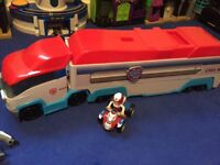 Paw Patrol Pawpatroller with Ryder figure and bike
