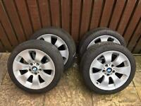 "BMW 17"" Alloy Wheels, Alloys"