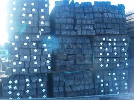 RAILWAY SLEEPERS RECLAIM 2 GRADES ALSO NEW SLEEPERS 1000S IN STOCK FROM £20+VAT
