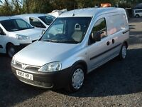 COMBO 2007 1.3CDTI AIR-CON ONE OWNER FSH DRIVES SUPERB £