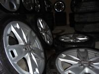 17inch genuine ats audii a3 s line alloys wheels seat leon vw caddy t4 5x112 golf mk5 6 gt bbs