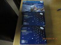 X3 Sets of new christmas icicle lights