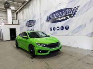 2016 Honda Civic Coupe EX-T W/ Touchscreen, Sunroof, Automatic