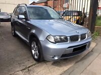 BMW X3 2.5 i SE 5dr - MOT March 2018, 8 Service Stamps, 2 keys, M Sport, Beautiful car!! £3295