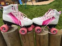 Roller disco boots skates