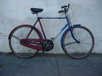 84a4900ee79 Original Vintage Town   Commuter 3 -Speed Bike by Triumph