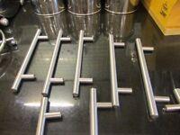 Kitchen Cabinet Handles x 32 Stainless Steel