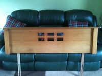 Teak Headboard for Double Bed - Good Condition - £50