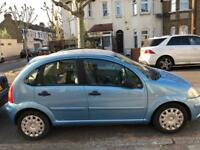 Citroen c3 2004 petrol 1400 cc 83 t miles manual