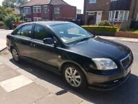 Toyota avensis 1.8 petrol cheap car low insurance.clean inside out