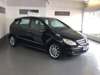 MERCEDES BENZ B180/2008/LOW MILES/TOP SPEC/COMES WITH 3 MONTHS WARRANTY AND FULL MOT