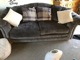 Cheaterfield 4 seater sofa and also a 2 seater