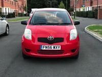 LOW MILEAGE,LOW INSURANCE GROUP TOYOTA YARIS ION 5 DOOR HATCHBACK 1.0L PETROL