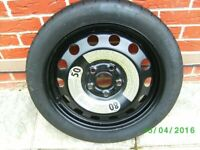 BRAND NEW SPACESAVER WHEEL AND TYRE FOR VW GOLF