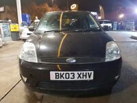 Ford fiesta 1.4 black zetec very good runner drives with 6 month MOT .......
