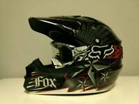 Fox V1 Helmet M with Goggles