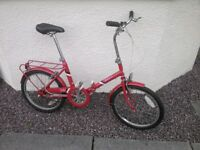BSA folding bike retro