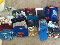 Large bundle of boys clothes aged 2-3 BUNDLE 2