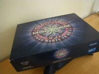 ORIGINAL BOXED and SEALED WHO WANTS TO BE A MILLIONAIRE gAME. VINTAGE - LATE 1980's.