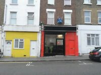 Cafe to rent with a small flat underneath. Directly by Norwood Junction Station
