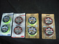 Fishing Reel Lines, various breaking strains, unused / boxed / new condition.