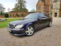 VERY RARE FACTORY AMG SPEC 2003 MERCEDES S320CDI AMG HIGH SPEC IMMACULATE CONDITION SPECIAL COLOUR