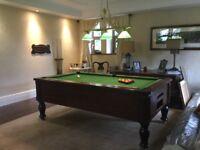 Pool/snooker table light