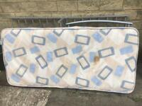 Free single mattress and frame