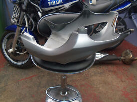 honda translap 700 belly pan in silver came of a 2010 bike perfect condition
