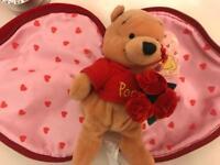 Winnie the Pooh Valentine bear