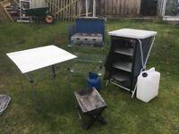 camping kitchen equipment