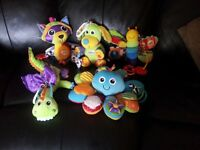 Lamaze baby sensory toy bundle