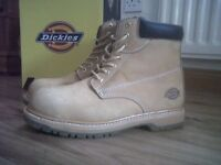 **Brand New** Dickies Honey Cleveland Safety Boots Size 11