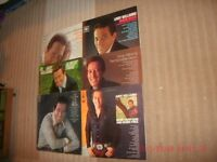 ANDY WILLIAMS-6 X 12.INCH VARIED LP'S-ALL IN EXCELLENT CONDITION.