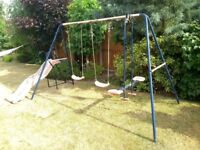 Multi swingset with slide