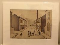 British Art Mounted Print Sale - Lowry from just £5