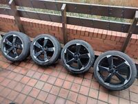 Audi Volkswagen Rotor Alloy Wheels Can Sell Single Can Post Can Part Ex
