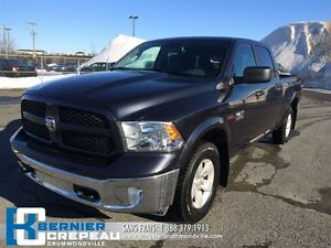2016 Ram 1500 Outdoorsman ** DIESEL, BLUETOOTH, PRISE USB/AUX**