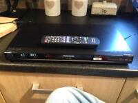 Panasonic blu ray player with smart features