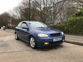 Vauxhall Astra 1.6 16v sxi 2002 3dr Very Clean Genuine 82k