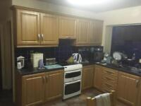 Kitchen units and sink
