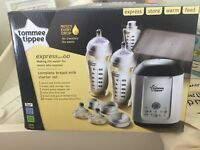 Tommee tippee express and go set