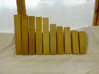10 No Small Mahogany Pieces