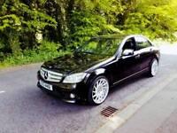 2008 Mercedes Benz C220 AMG Black Sport Automatic Diesel