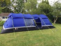 Enormous 10 man kalahari tent - family camping