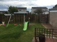 Outdoor playing gym