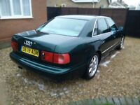 Audi a8, MOT 01.11.2017, Automatic, Same owner 10years!