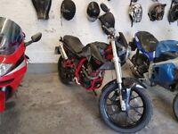 2010 derbi mulhacen 125cc non runner